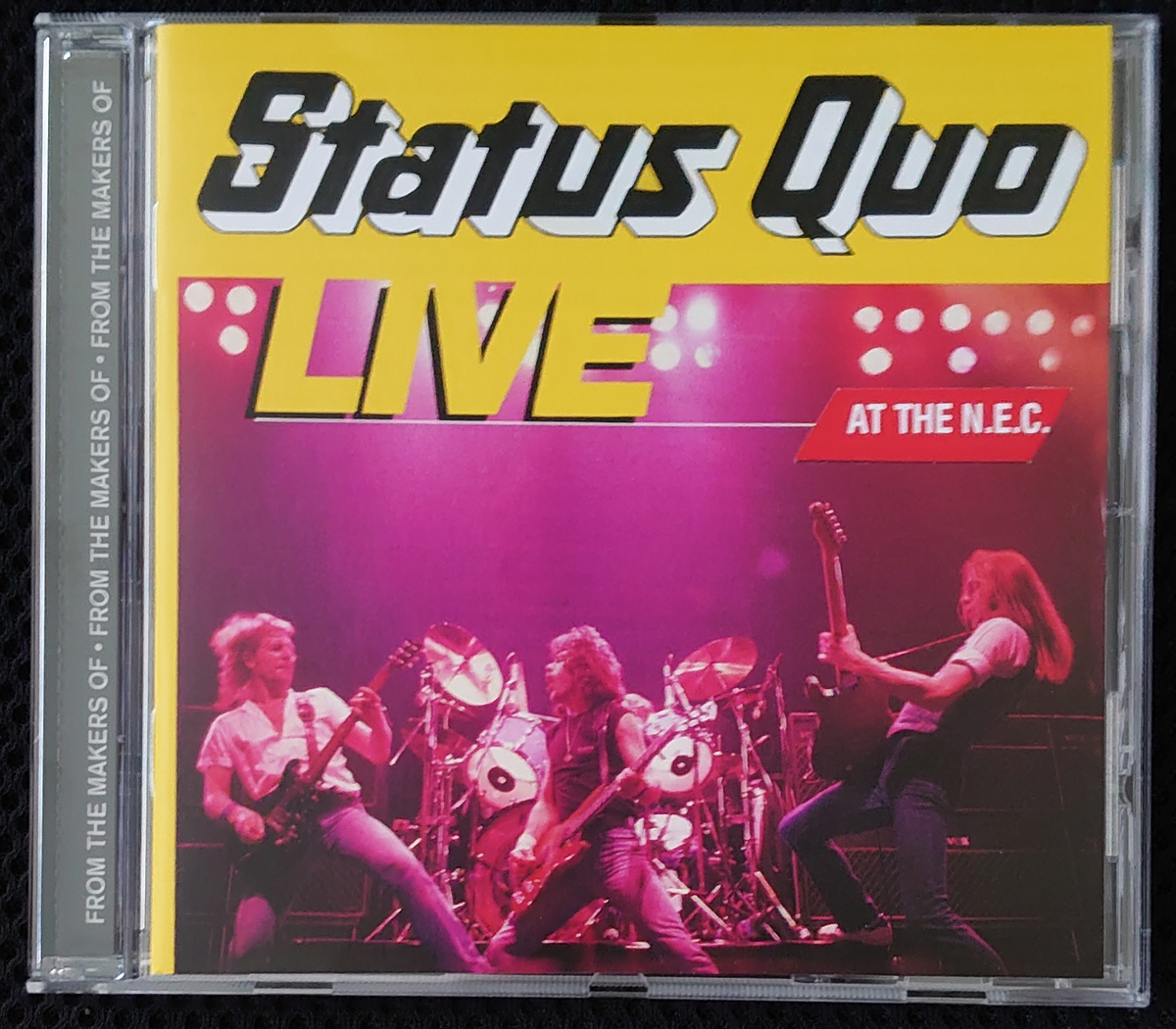 Status Quo_Live at the N.E.C.