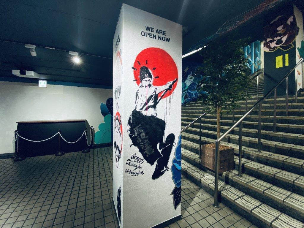 Semba Mural Project (船場ミューラルプロジェクト)堺筋本町駅付近