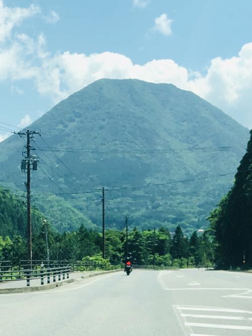 青野山 オートバイ