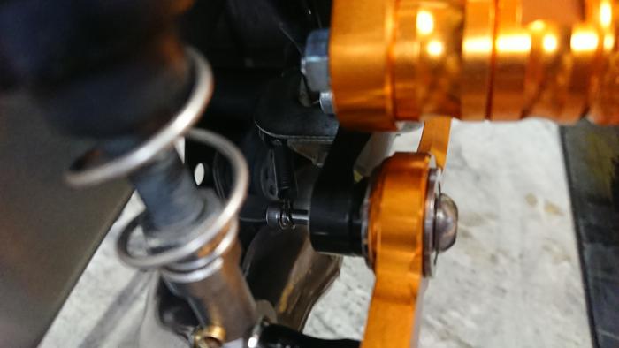 BabyFace CB400SF バックステップ スプリング