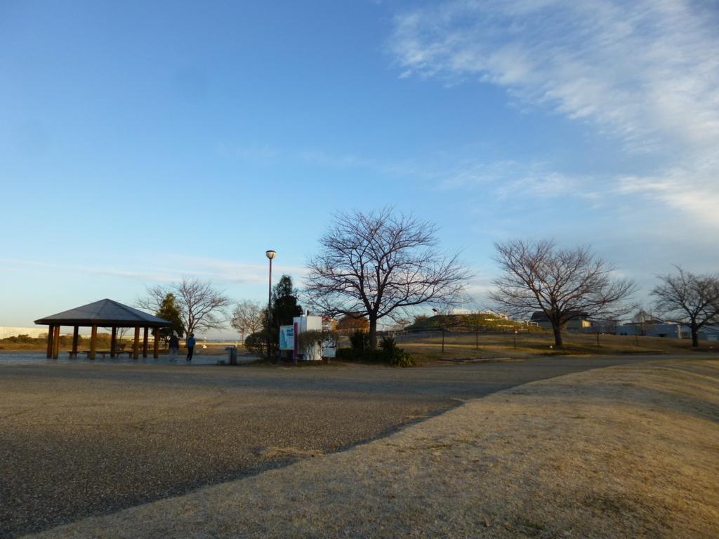 橋からの三川公園