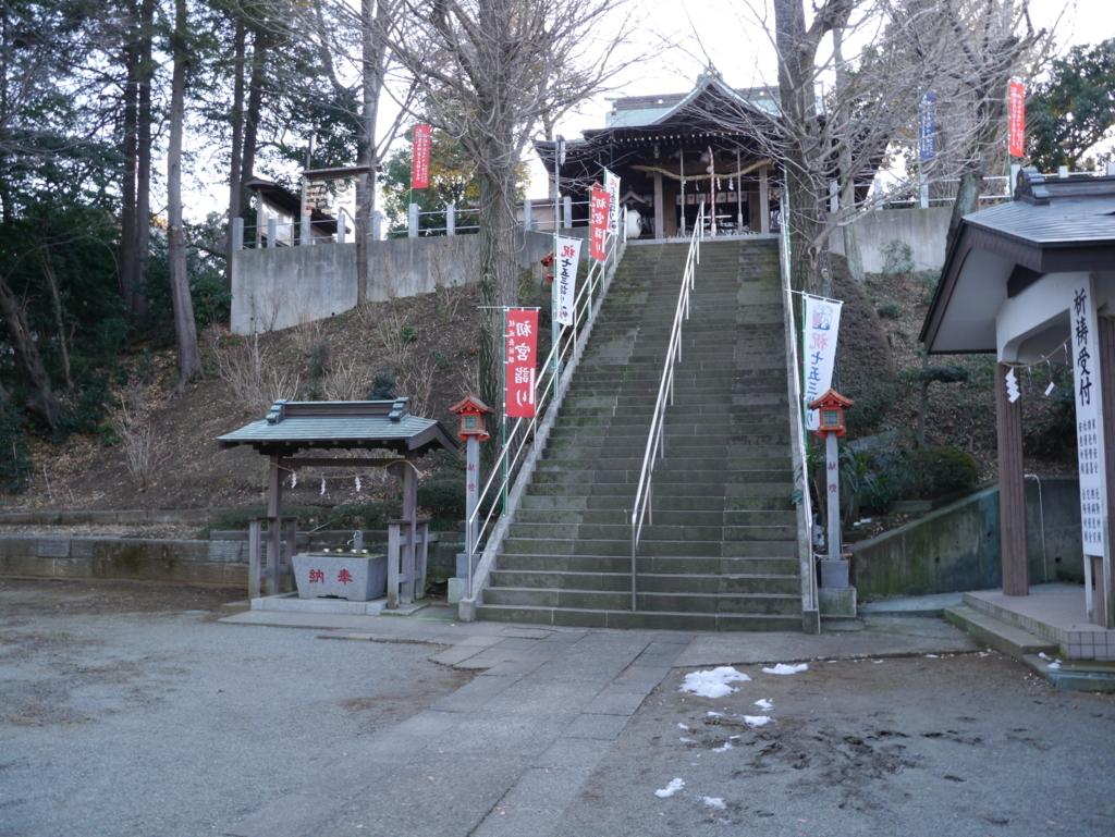 中段からの弥生神社