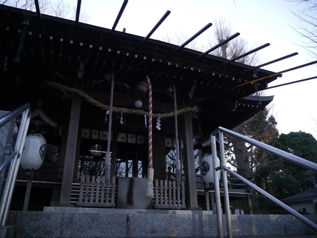 弥生神社お社