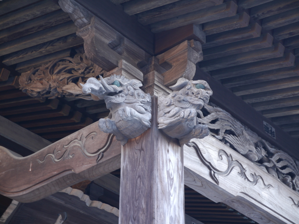 龍峰寺装飾