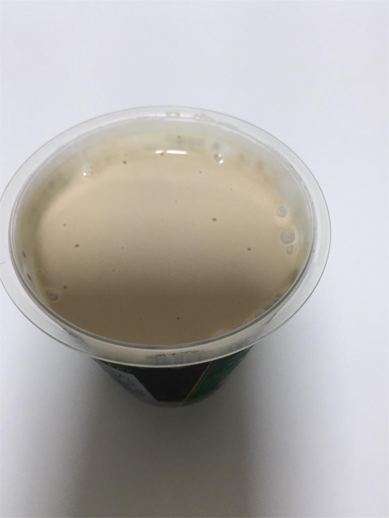 雪印メグミルク「ほろにがコーヒーゼリー まろやかクリーム」 裏面