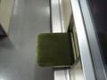 [鉄道][寝台急行銀河]廊下の腰掛