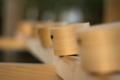 [神社][手水舎][柄杓]神宮所管の神社は柄杓も檜