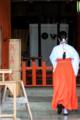 [熊野][和歌山][巫女][熊野那智大社][神社]奉納