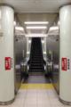 [エスカレーター][京都][烏丸線][地下鉄]メタリックでいい感じ