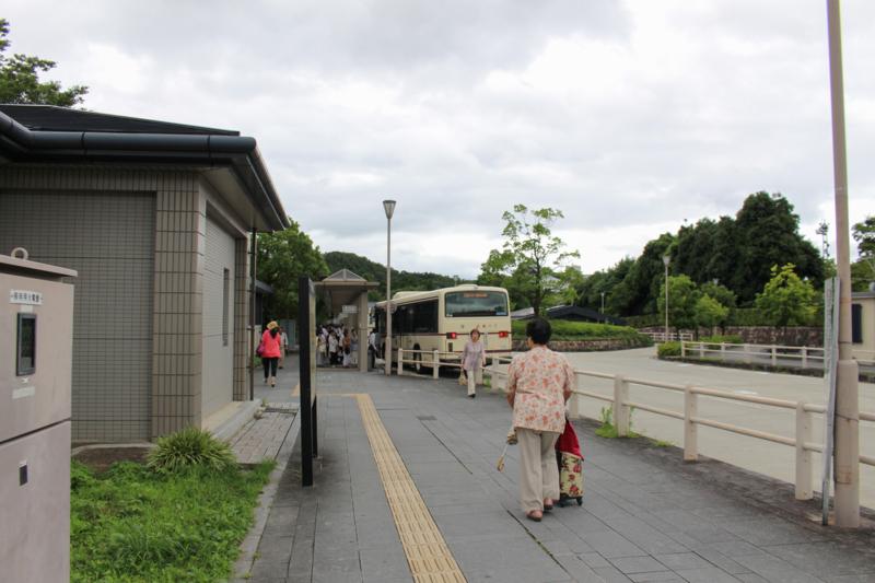 [京都バス][国際会館駅][バス停]
