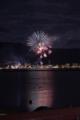 [花火][長野][諏訪湖]湖上の華