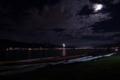 [花火][長野][諏訪湖]夜の諏訪湖に
