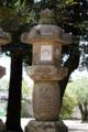 [神社][灯籠][春日大社]竿膨れ灯籠(仮)