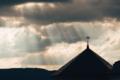 [薄明光線][レンブラント光線][雲][空]神々の地で