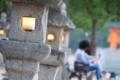 [広島][宮島][厳島神社][灯籠]優しい光