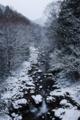 [雪][渓谷][冬]白雪の谷