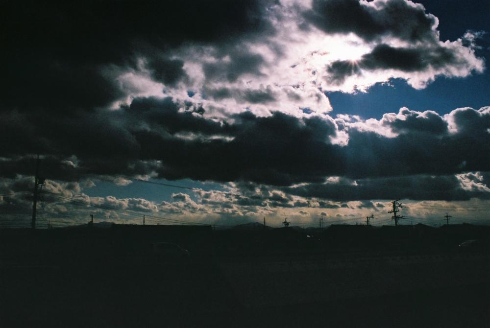 フィルムで撮った空の写真