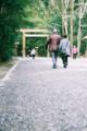 [伊勢神宮][鳥居][フィルム]お伊勢参り