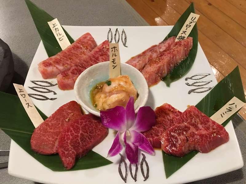 焼肉レストラン慶州 5種盛り
