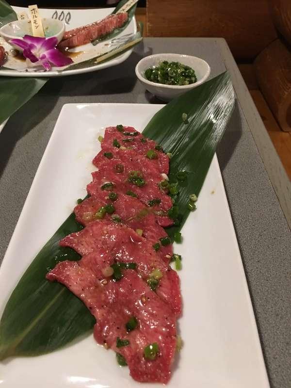 焼肉レストラン慶州 ネギ黒タン塩