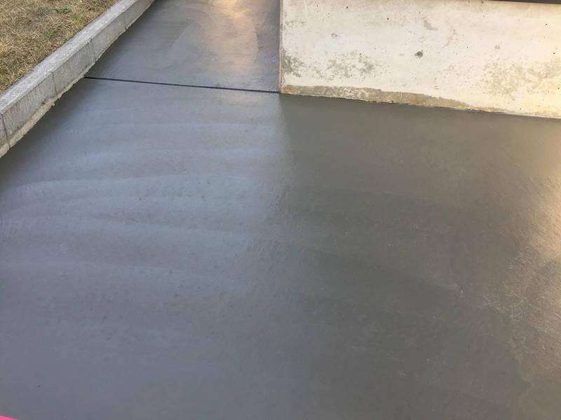 土間コンクリート 打設工事 施工