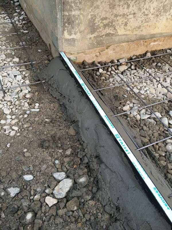 土間コンクリート 伸縮目地