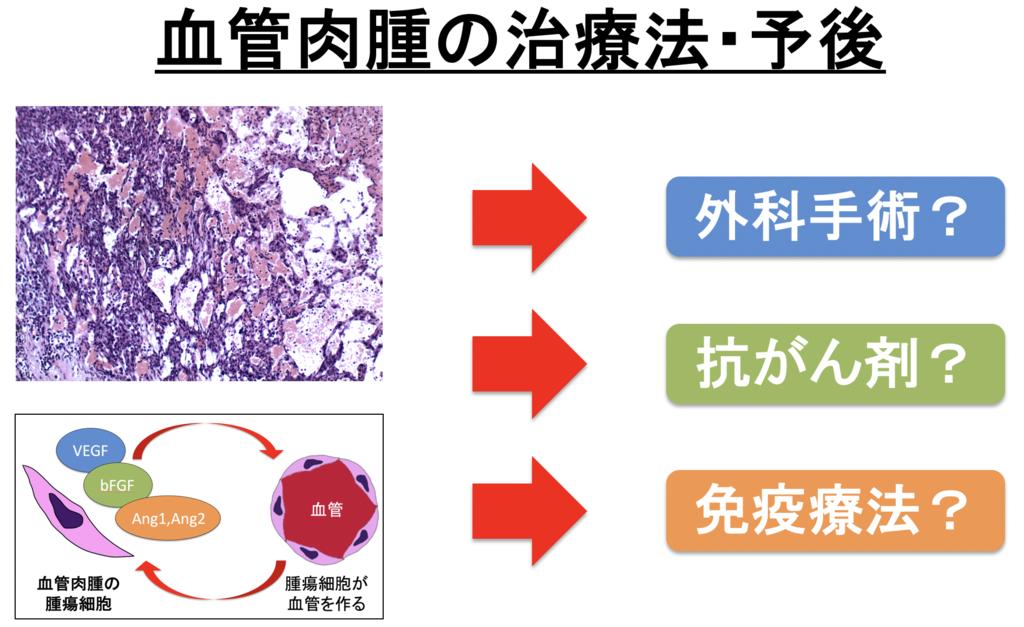 血管肉腫の治療法・予後