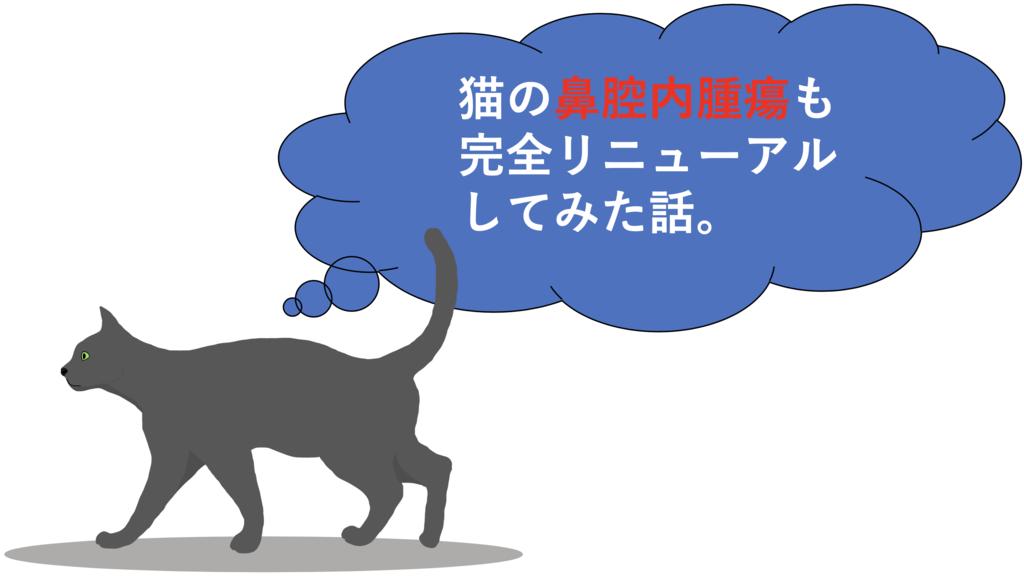 猫の鼻腔内腫瘍のアイキャッチ画像