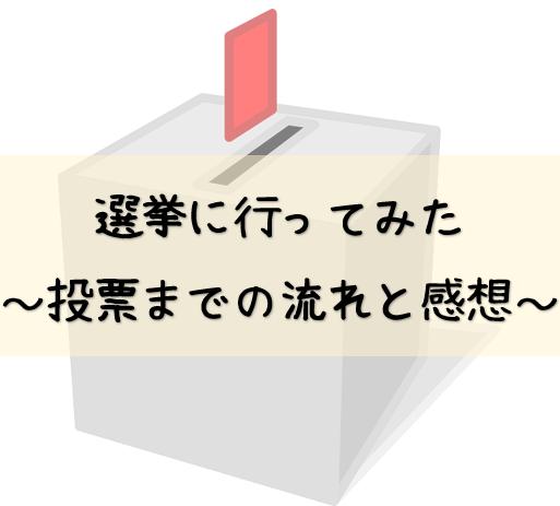 投票 選挙 参院選