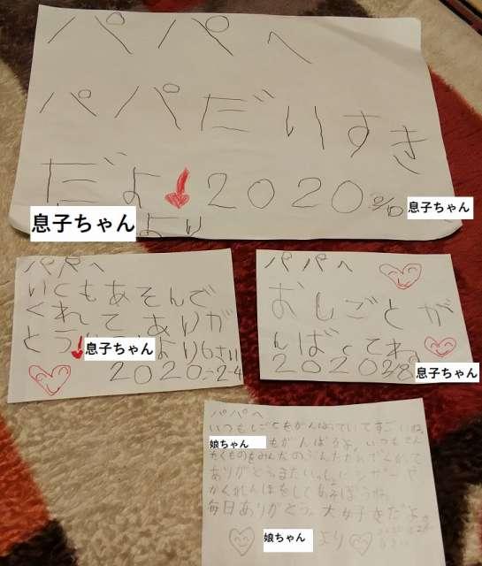 子どもの手紙