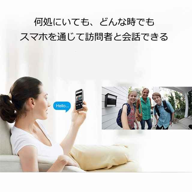 防犯カメラ付インターホン特徴1