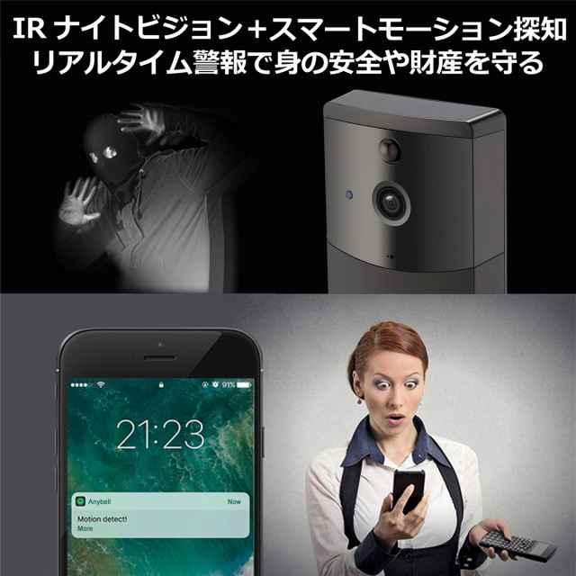 防犯カメラ付インターホン特徴4
