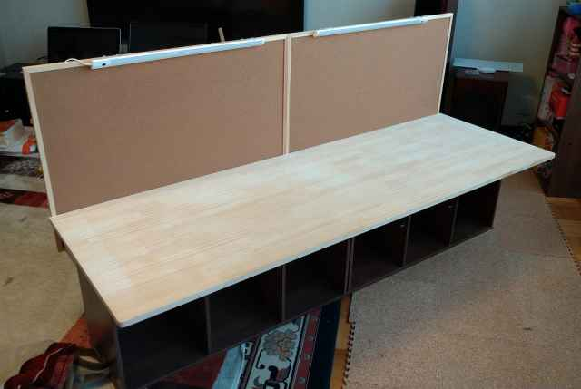 自作ワークテーブルの作り方1