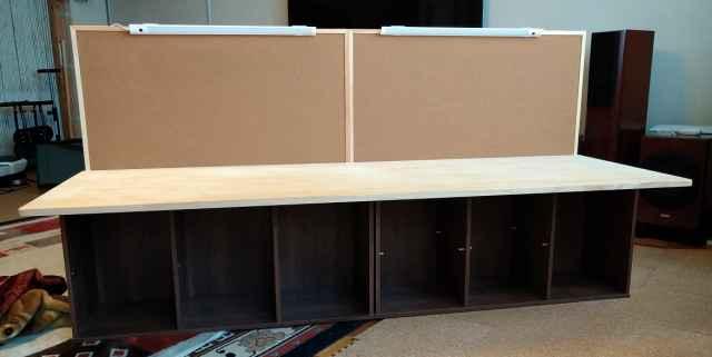 自作ワークテーブルの作り方2