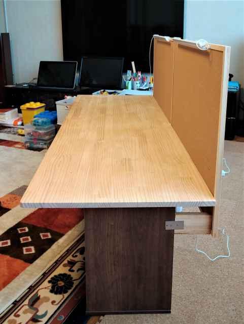 自作ワークテーブルの作り方3