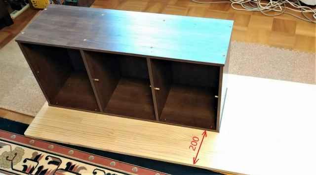 自作ワークテーブルの作り方14