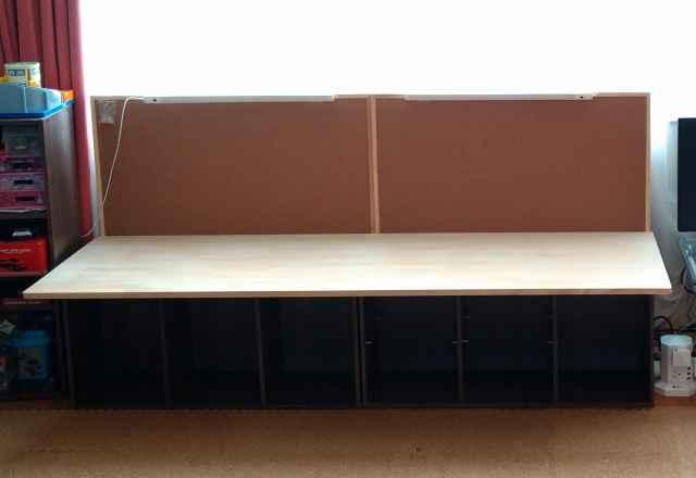 自作ワークテーブルの作り方24
