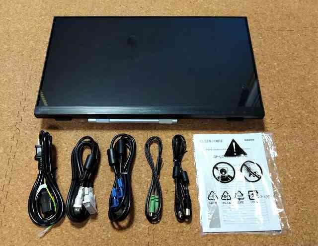 タッチパネルディスプレイ GH-LCT22C-BKの付属品