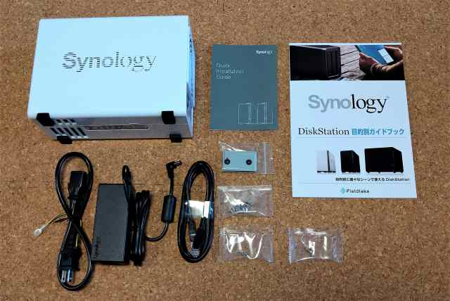 おすすめのNASキット「Synology DiskStation DS218j」02