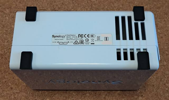 おすすめのNASキット「Synology DiskStation DS218j」07