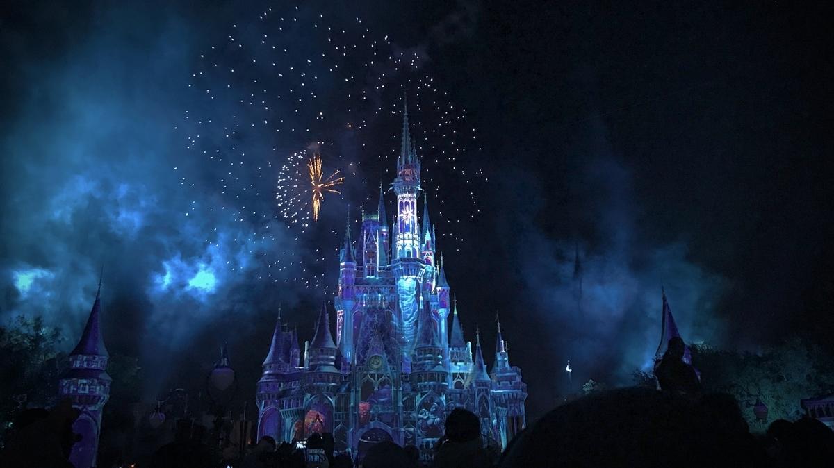 ディズニーの魔法にかかる夜