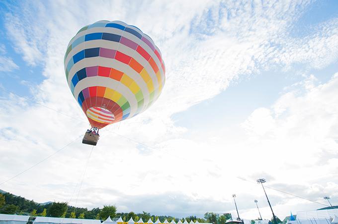 ラブシャの熱気球