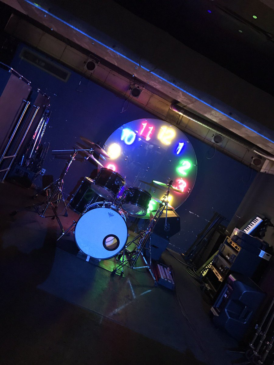club EARTHの舞台セット