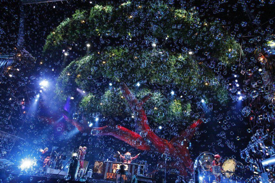 セカオワ ARENA TOUR 2014 「炎と森のカーニバル -スターランド編-」の様子