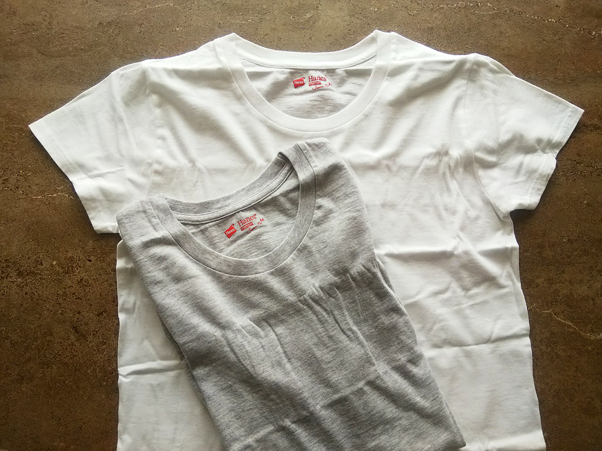 Hanes Tシャツ ジャパンフィット FOR HER クルーネック 2枚組