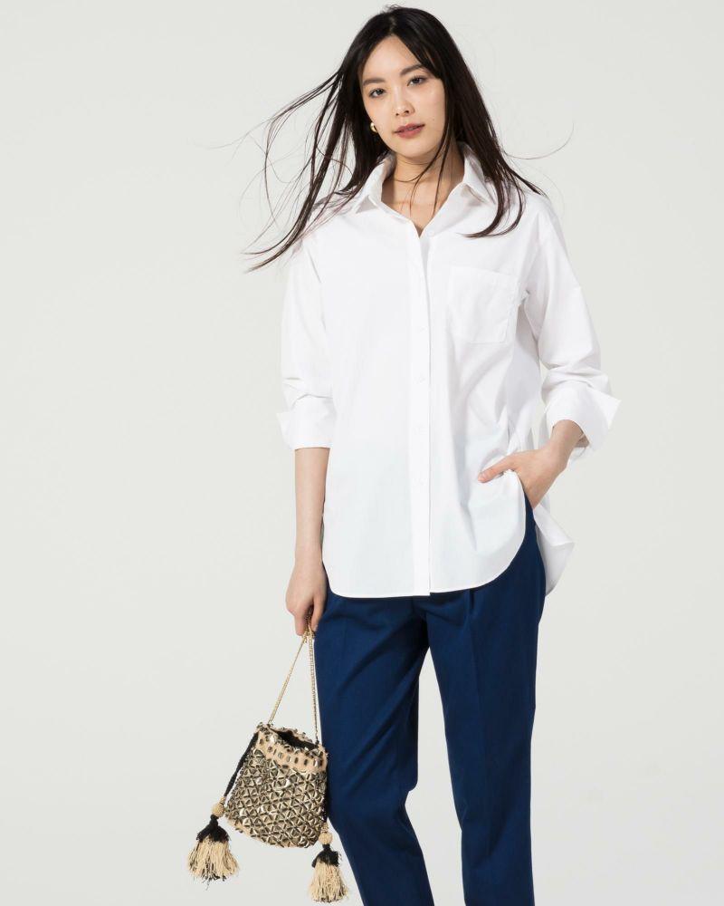 UVコットン・胸ポケットシャツ