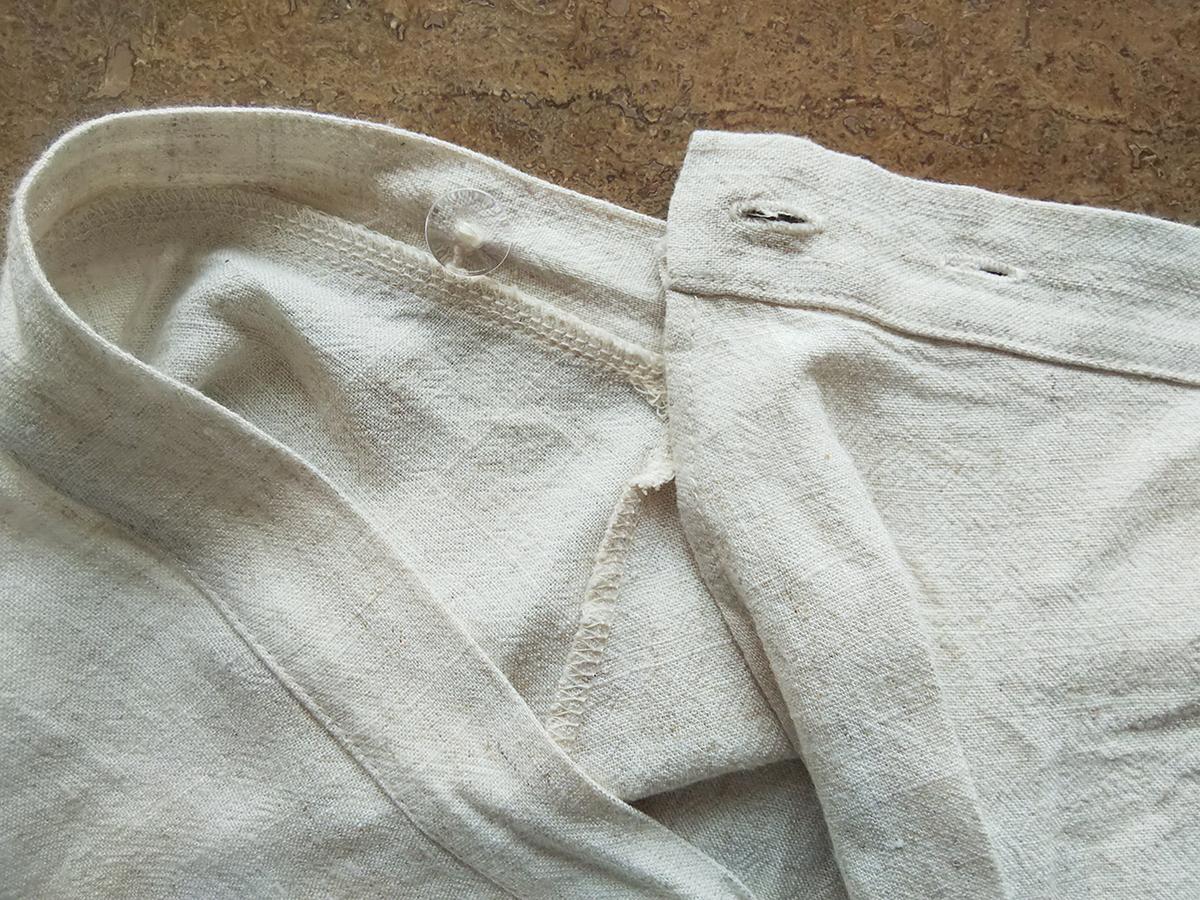 ナチュラルリネンスリーブレストップス、ナチュラルリネンフレアラップスカート