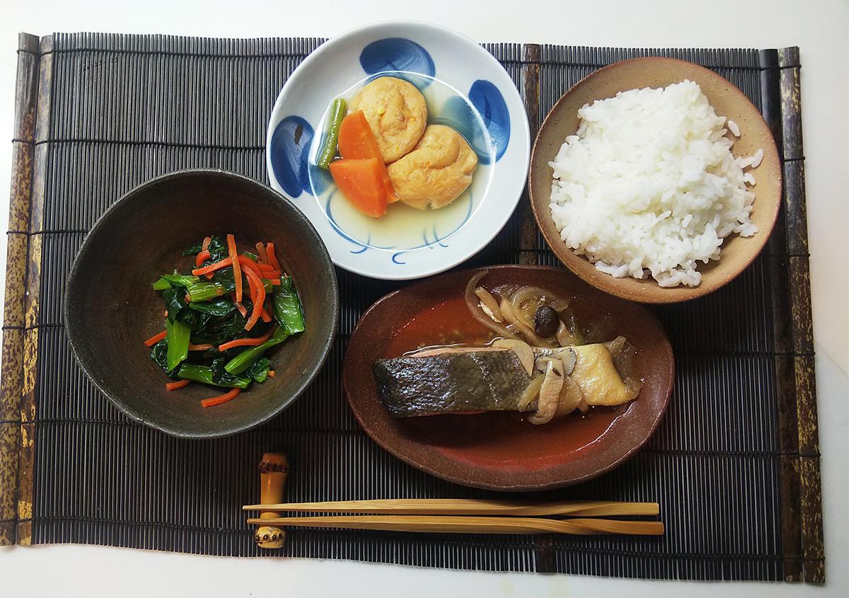 北海道産 鮭のソテーセット
