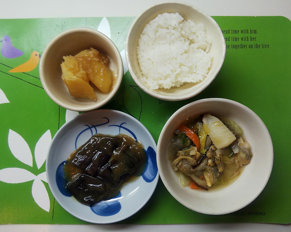 国産あさりと帆立貝の海鮮八宝菜