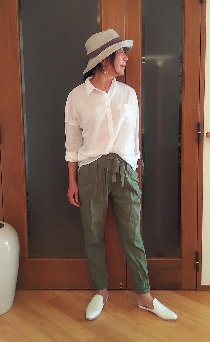 ピュアコットン・ベーシックシャツ